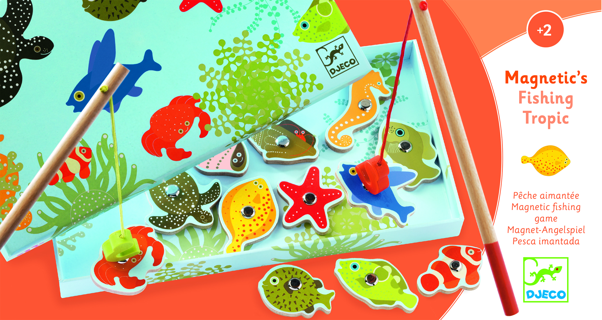 Magnetic Fishing Game from Djeco