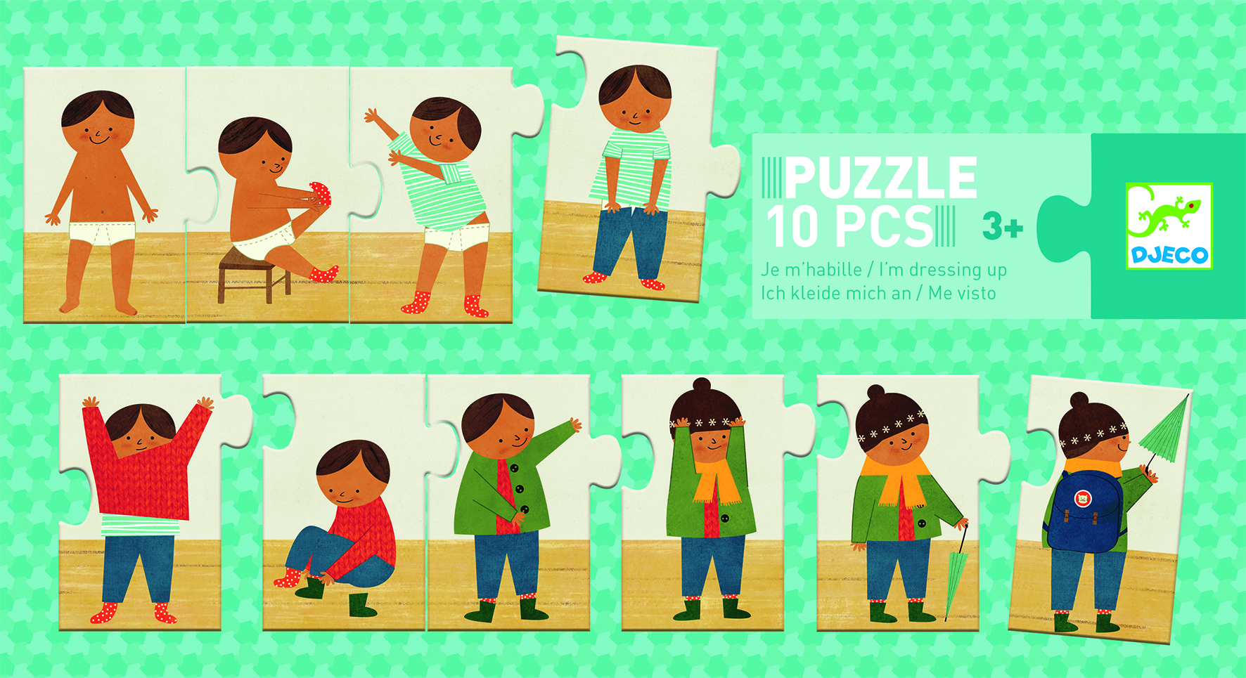 I'm Dressing Up! Puzzle from Djeco
