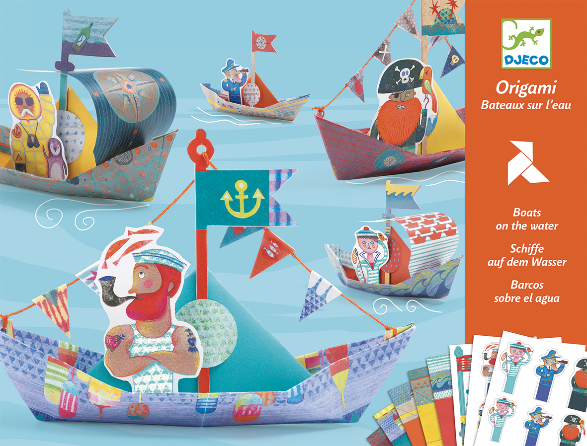 Origami Boats from Djeco
