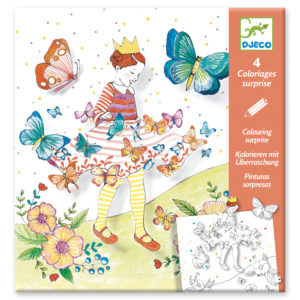 Lady Butterfly Colouring Surprises from Djeco