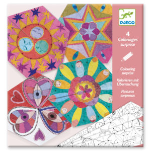 Mandalas Colouring Surprises from Djeco