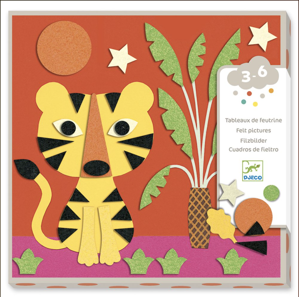 Sweet Nature Felt Pictures from Djeco