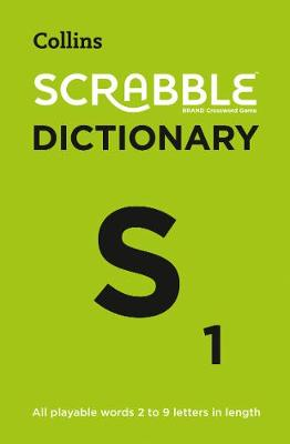 SCRABBLE (R) Dictionary: The Official Scrabble (R) Solver – All Playable Words 2 – 9 Letters in Length