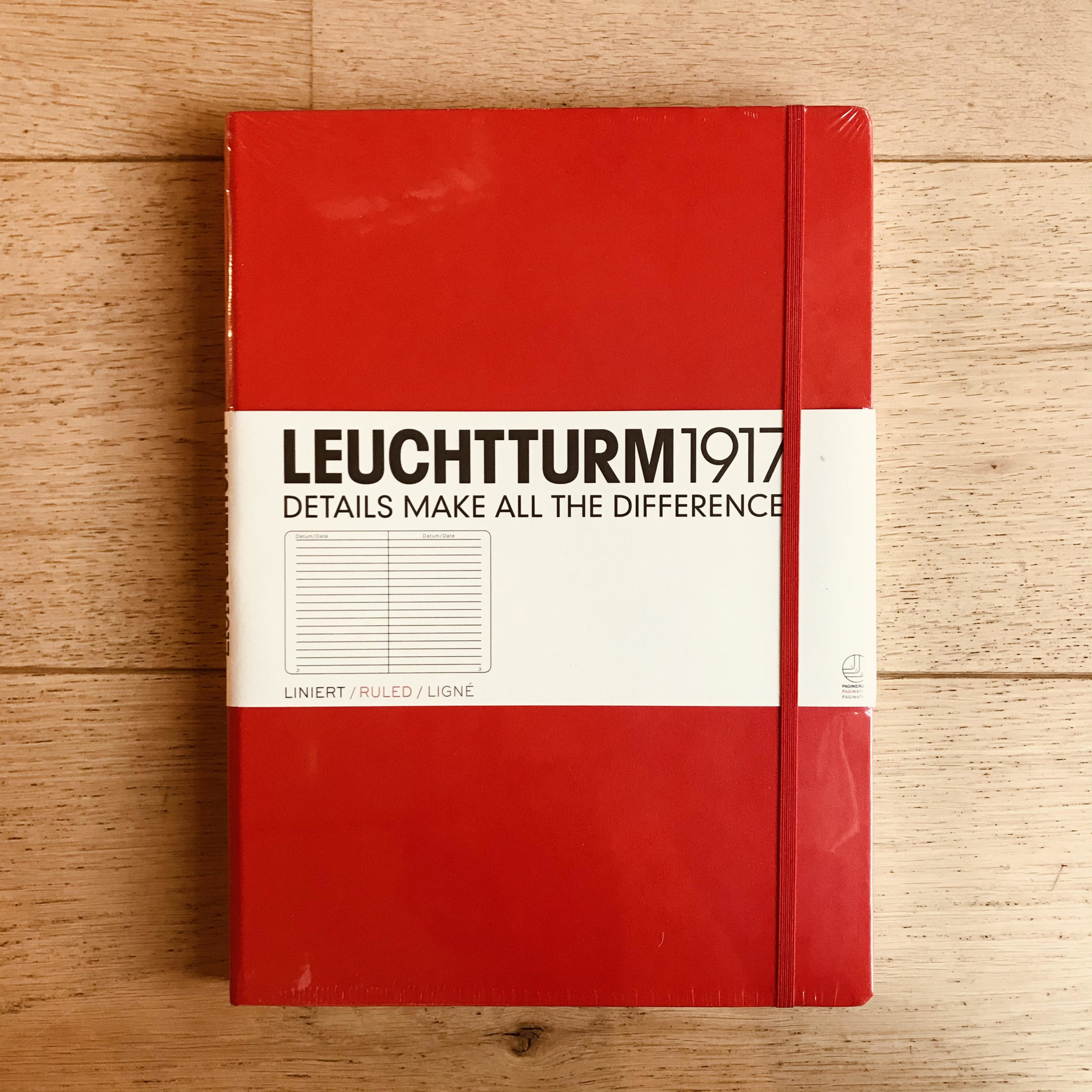 Leuchtturm1917 A4+ Lined Notebook (Large)