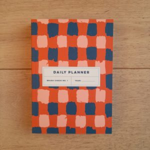 Brush Check No.1 Daily Planner Book