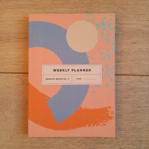 Memphis Brush No.2 Weekly Planner Book