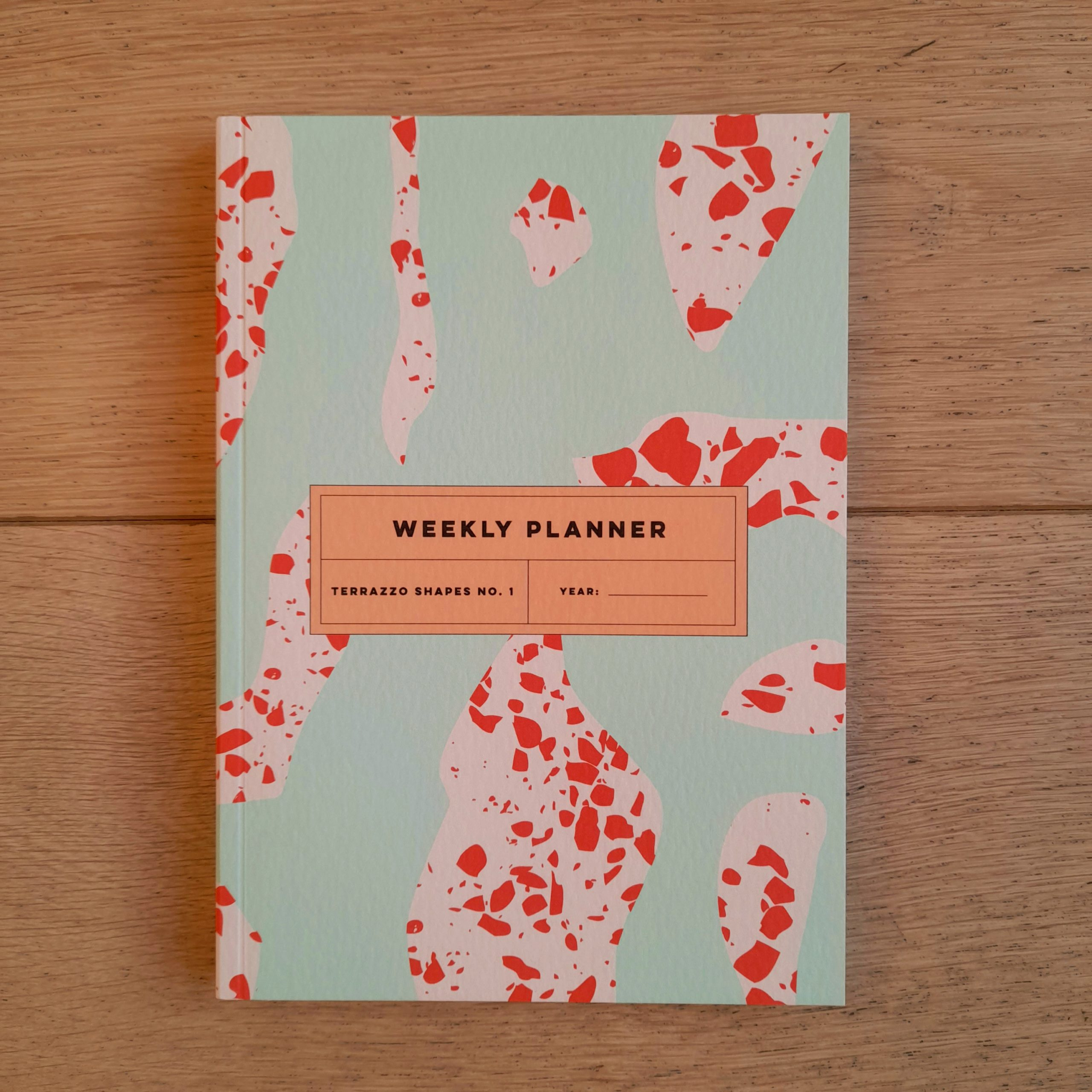 Terrazzo Shapes No.1 Weekly Planner Book