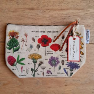 Wildflowers Cotton Pouch Bag