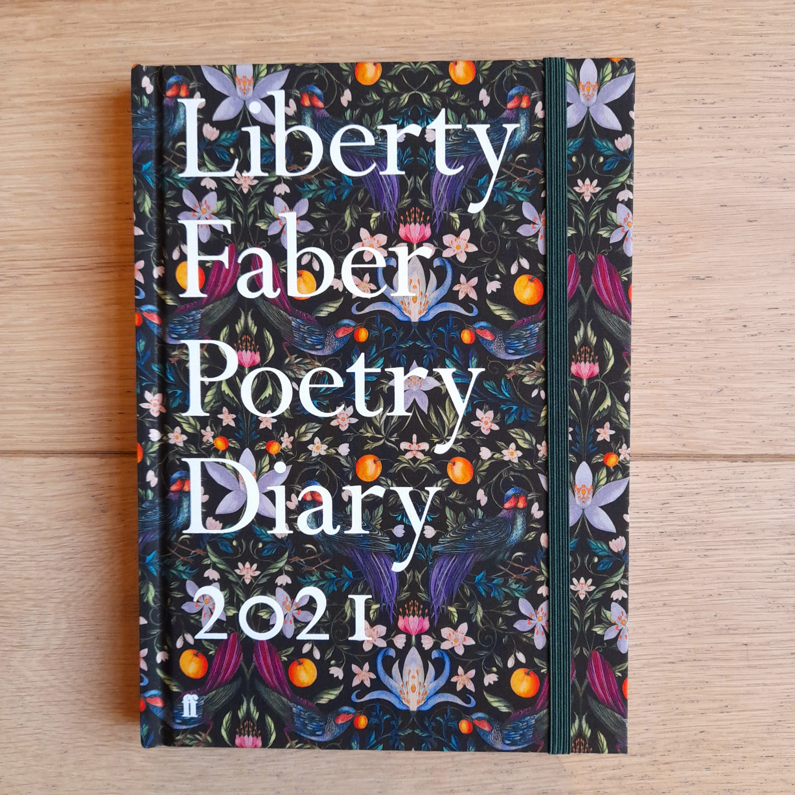 Liberty Faber 2021 Poetry Diary