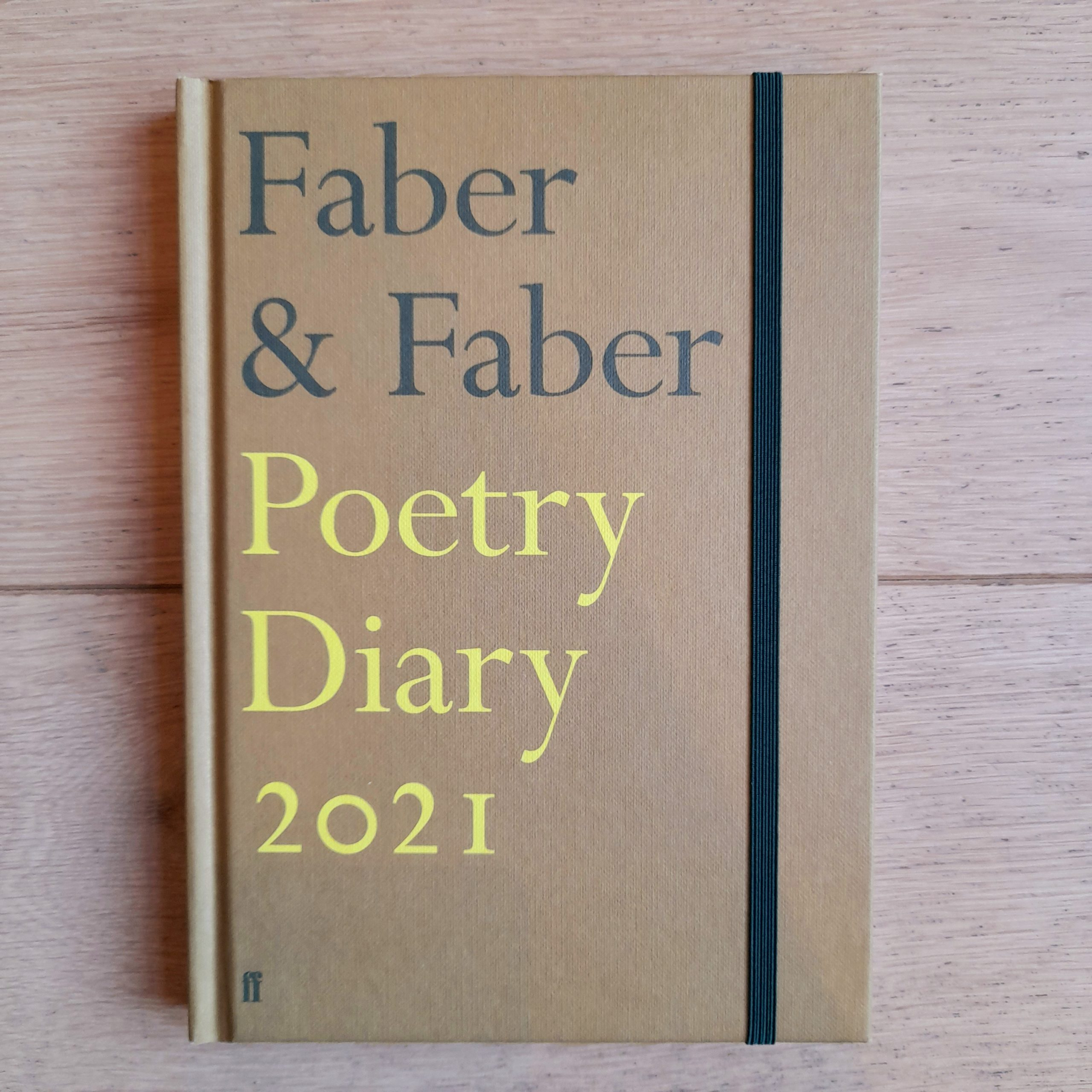 Faber & Faber 2021 Poetry Diary