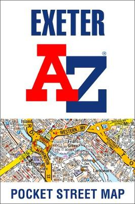 Exeter A-Z Pocket Street Map