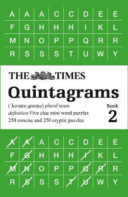 Times Quintagrams Book 2, The: 500 Mini Word Puzzles