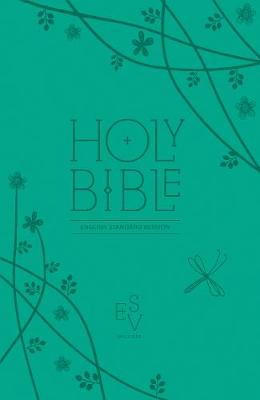 Holy Bible English Standard Version (ESV) Anglicised Teal Compact Edition with Zip