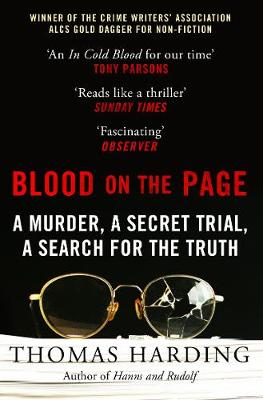 Blood on the Page: WINNER of the 2018 Gold Dagger Award for ...