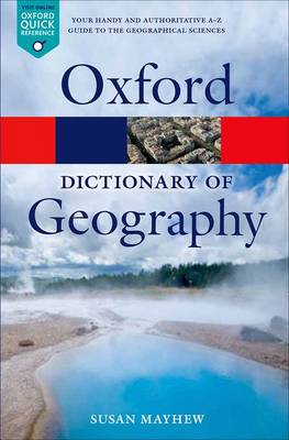 Dictionary of Geography, A