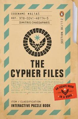 Cypher Files, The: An Escape Room… in a Book!
