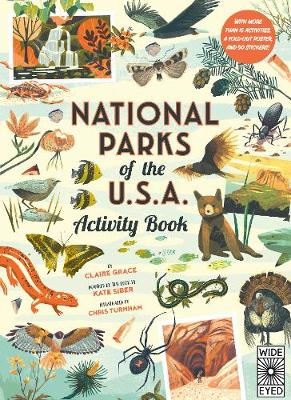 National Parks of the USA: Activity Book: With More Than 15 ...