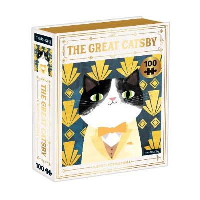 Great Catsby Bookish Cats 100 Piece Puzzle, The