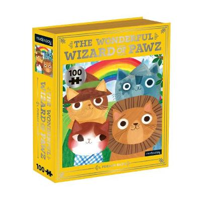 Wonderful Wizard of Pawz Bookish Cats 100 Piece Puzzle, The