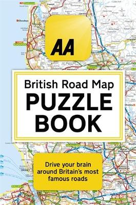 AA British Road Map Puzzle Book, The: These highly-addictive...