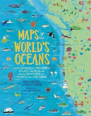 Maps of the World's Oceans: An Illustrated Children...