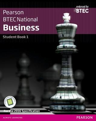 BTEC Nationals Business Student Book 1 + Activebook: For the 2016 specifications