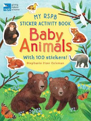 My RSPB Sticker Activity Book: Baby Animals