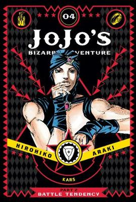 JoJo's Bizarre Adventure: Part 2–Battle Tendency, Vol. 4