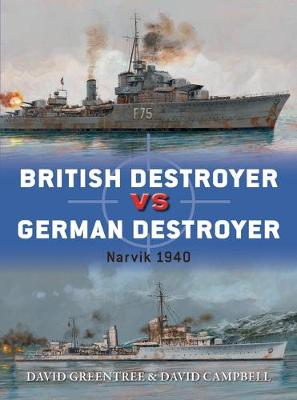 British Destroyer vs German Destroyer: Narvik 1940