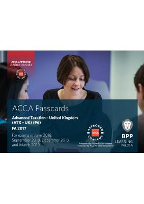 ACCA P6 Advanced Taxation FA2017: Passcards