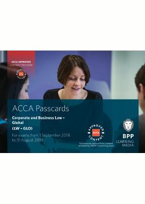 ACCA Corporate and Business Law (Global): Passcards