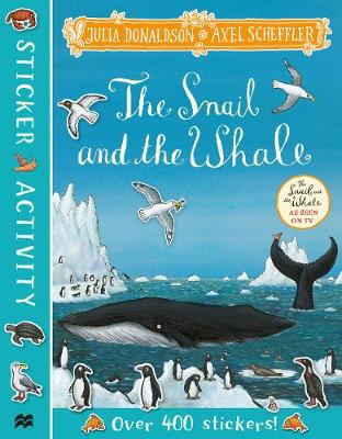 Snail and the Whale Sticker Book, The