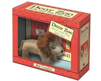 Dear Zoo Book and Toy Gift Set: Lion