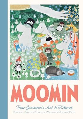 Moomin Pull-Out Prints: Tove Jansson's Art & Pictu...