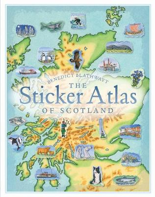 Sticker Atlas of Scotland, The