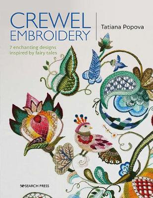 Crewel Embroidery: 7 Enchanting Designs Inspired by Fairy Ta...