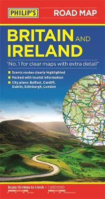 Philip's Britain and Ireland Road Map