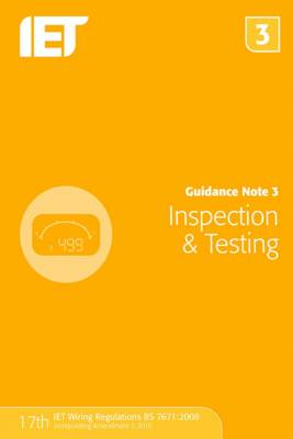 Guidance Note 3: Inspection & Testing