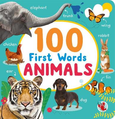 100 First Words Animals