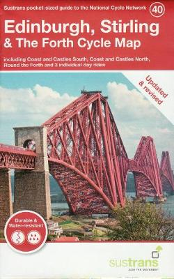 Edinburgh, Stirling & The Forth Cycle Map: Including Coa...