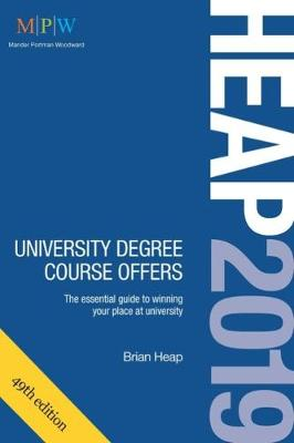 HEAP 2019: University Degree Course Offers