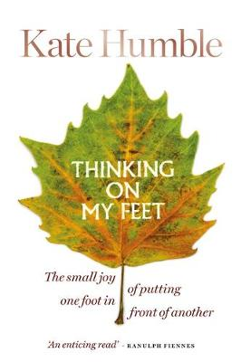 Thinking on My Feet: The small joy of putting one foot in fr...