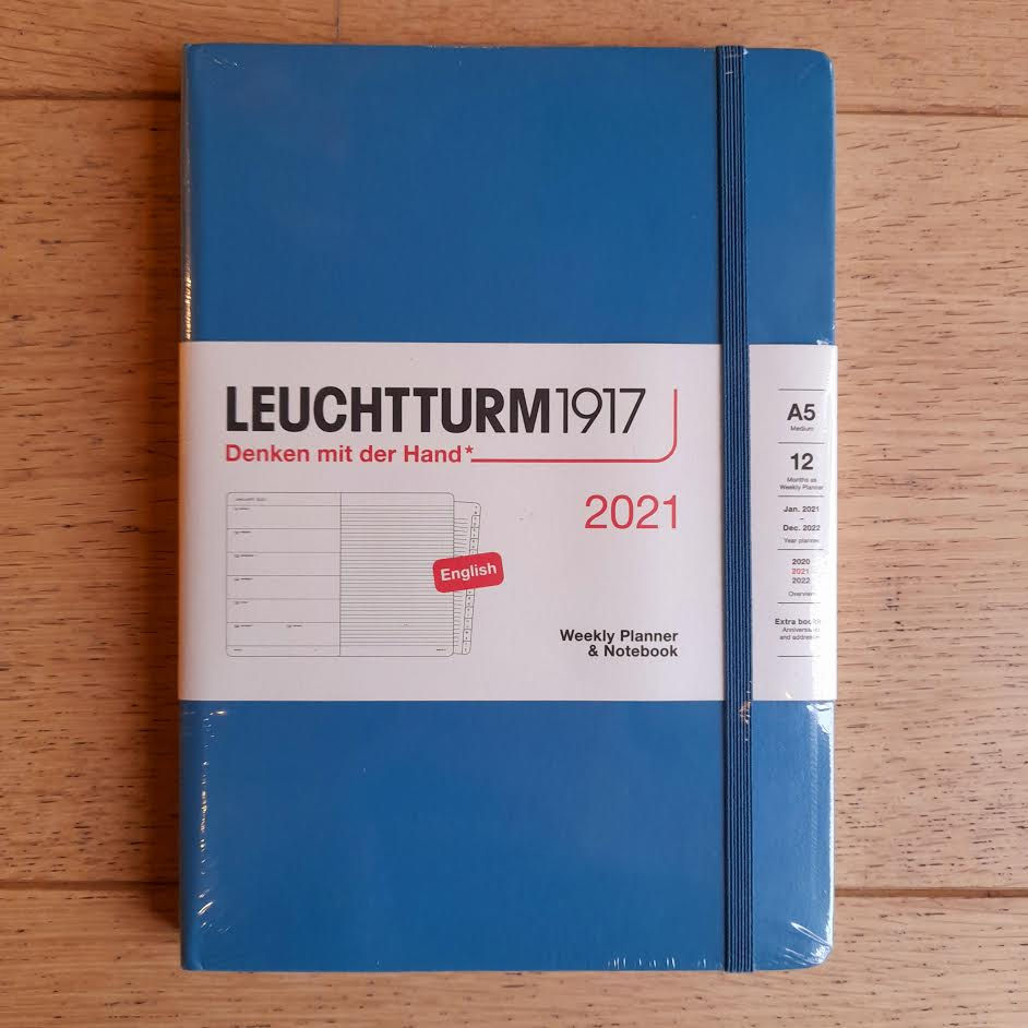 Leuchtturm1917 A5 Weekly Planner & Notebook