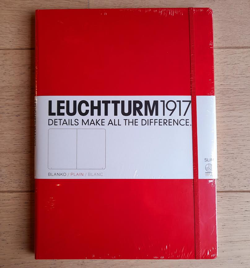 Leuchtturm A4+ Blank Notebook (Slim)