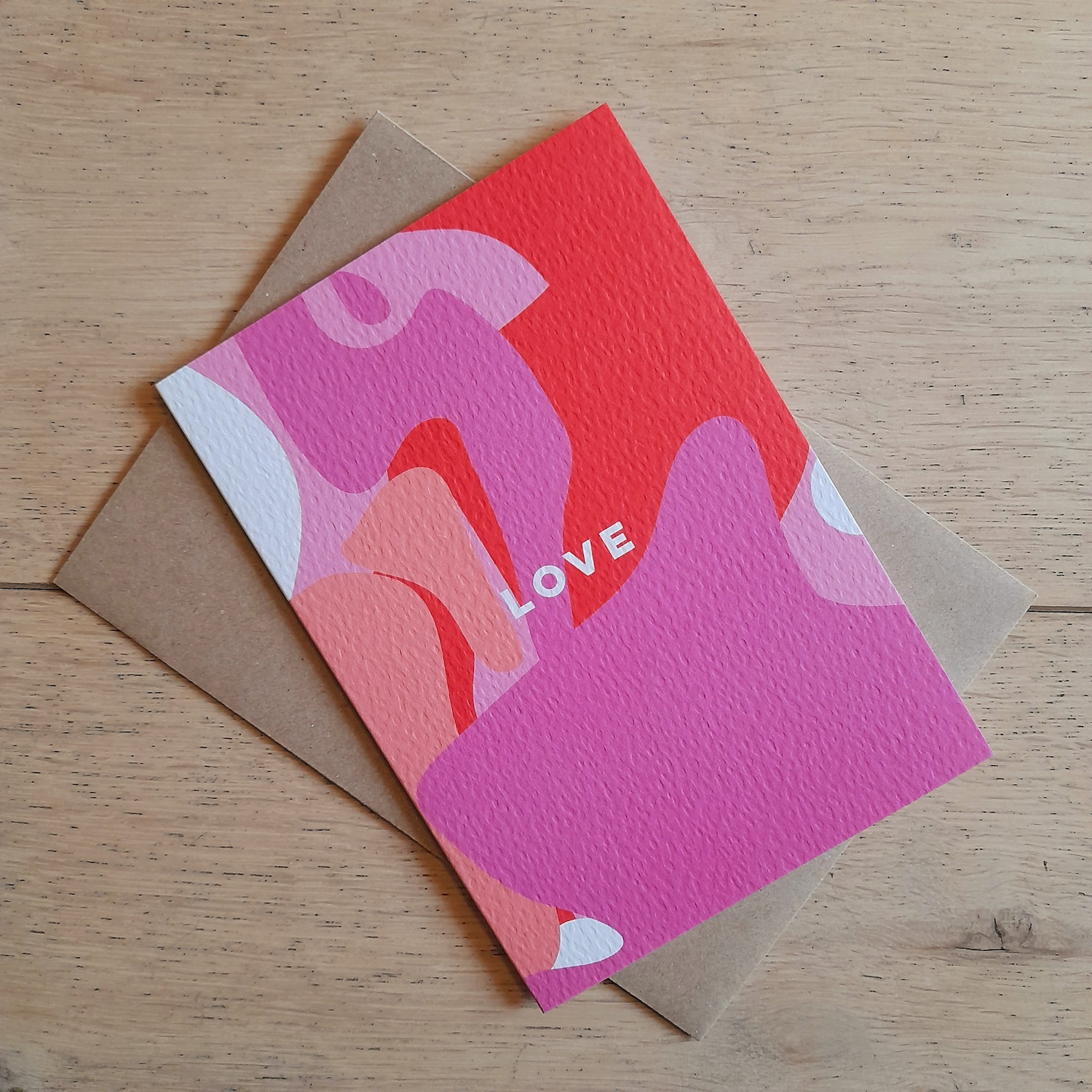 Love Shapes Card