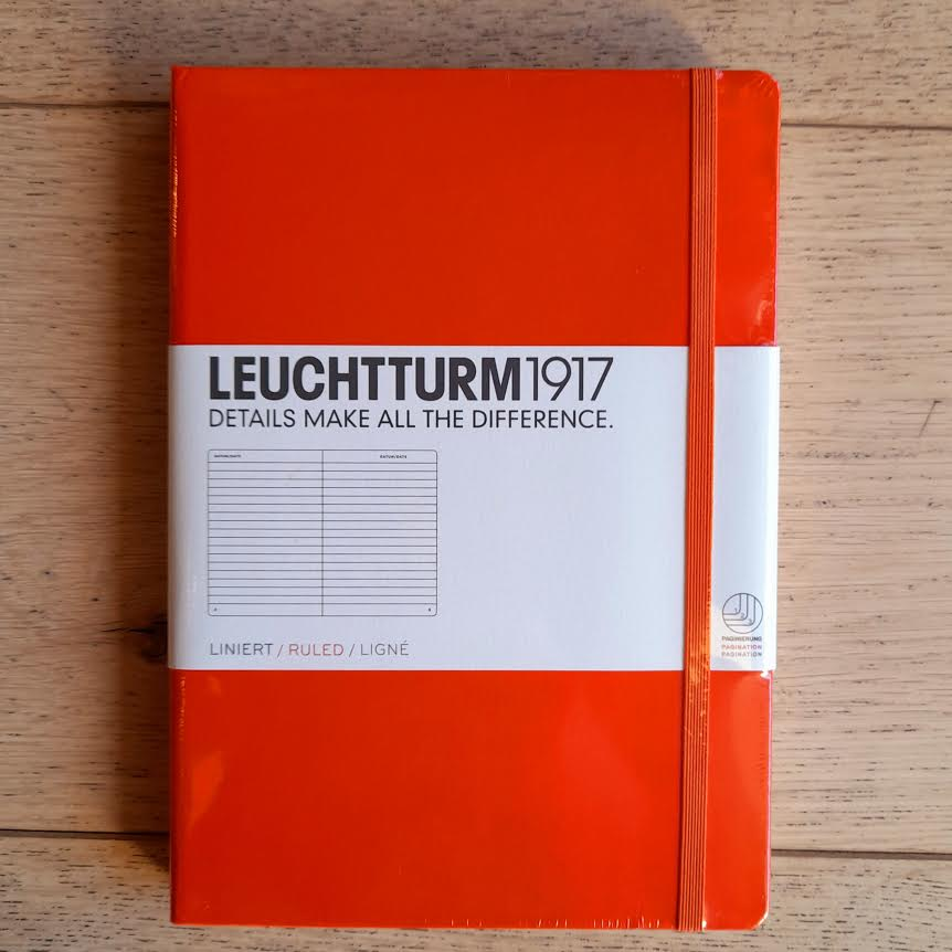 Leuchtturm1917 A5 Lined Notebook