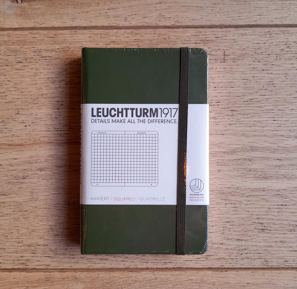 Leuchtturm1917 A6 Hardcover Squared Notebook
