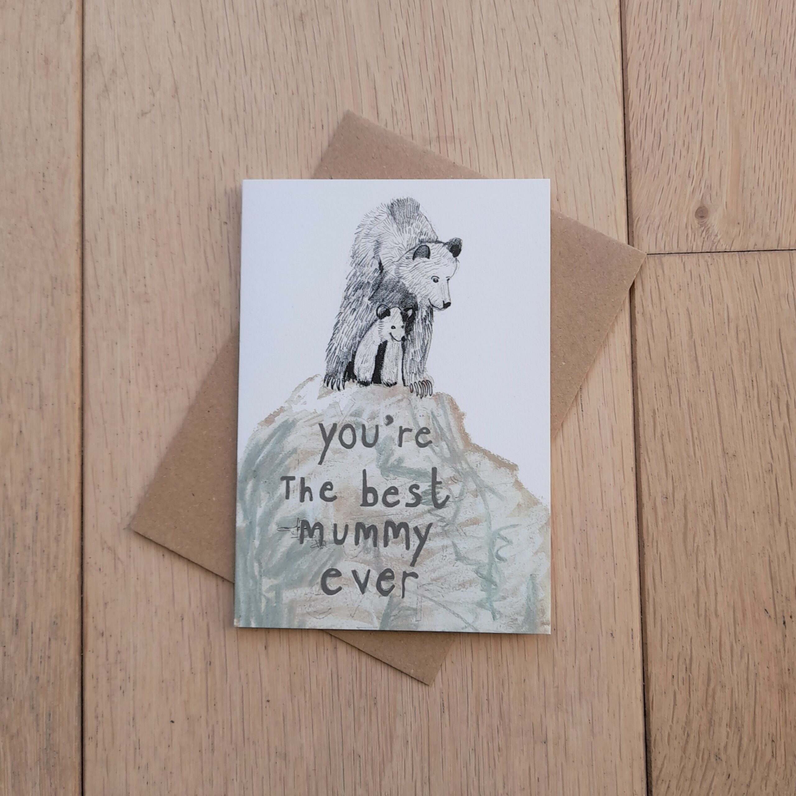 You're the Best Mummy Ever Card