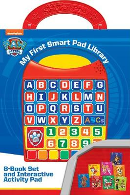 Nickelodeon Paw Patrol: My First Smart Pad Library: 8-Book S...