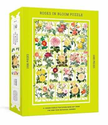 Roses in Bloom Puzzle: A 1000-Piece Jigsaw Puzzle Featuring ...